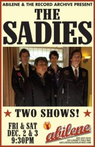 The Sadies at Abilene @ Abilene Bar & Lounge
